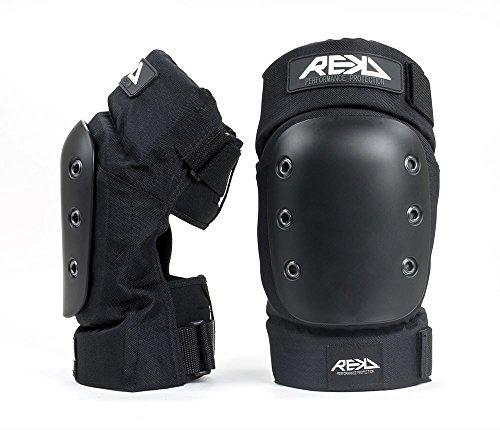 REKD'Pro Ramp' Knee Pads. Black.-M