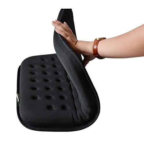 Komfort-rollstuhl-sitzkissen (JIAJU Anti-Dekubitus-Kissen Orthopädische Gel-Komfort-Schaum Sitzkissen Gel Kissen Druckentlastung Sitz Atmungsaktiv Rollstuhl Sitzkissen Büro Sitzkissen)