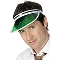 Sports Headwear Tennis Cap Headband Green Eye Shade Sandwich Sun Visor Poker Hat
