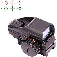 Triplespark 4 Reticolo Holografico Rosso Punto Verde Vista Punto Riflesso Tattico Scope per Fucile Airgun con supporto da 20 mm