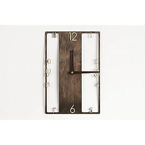 Moderne, hölzern Uhr - rustikale Wanduhr - rustikales Interieur - Hölzerne Wanduhr - Wanduhr - moderne Uhr - Hölzerne Uhr - Uhr aus Holz - Modernes Interieur