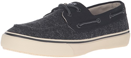 's Bahama 2-Eye Fashion Sneaker, Black, 7.5 M US ()