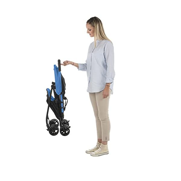 chilj| # Chicco Chicco Ohlala-Buggy Lightweight and Compact, 3.8kg, Blue (Power Blue)-Buggy Ultra-Compact, colorpower Blue Chicco  6