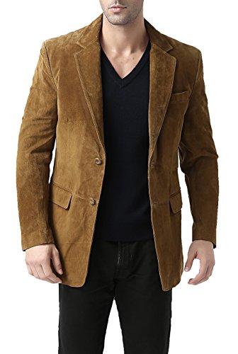 BGSD Herren Sakko Braun Tobacco Medium (Mens Winter Coats Big And Tall)