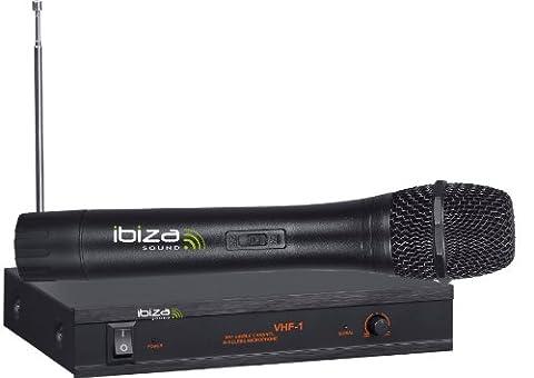 Ibiza 15-3030 VHF1A/1B Système de microphone VHF,(Modèles Assortis)