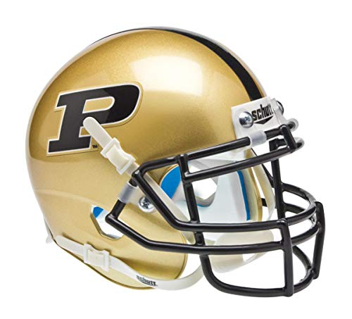Schutt NCAA Purdue Boilermakers Mini-Helm zum Sammeln, klassisch
