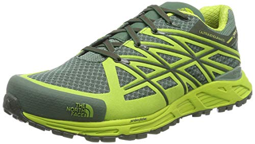North Face M Ultra Endurance GTX Scarpe da Trail Running Uomo, Verde (Duckgrn/Limegrn) 42 EU
