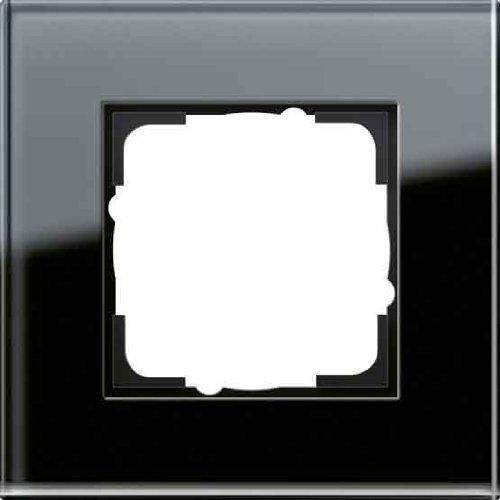 GIRA ESPRIT GLAS - INTERRUPTORES Y MARCOS PARA ENCHUFES (NEGRO  SCREWLESS)