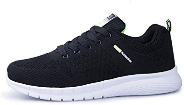 Hombre Calzado Deportivo Running Sneakers, Entrenadores Aire Cushion Fitness Athletic Walking Gym, Calzado Deportivo