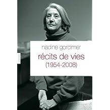 Récits de vies (1954-2008) : Traduit de l'anglais (Afrique du Sud) par Philippe Delamare (Documents Etrangers)