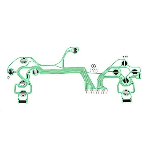 JunYe Conductive Controller Film Tastatur Flexkabel PieceB JDS-040 Slim Platine Ersatzknöpfe Tape für Sony Playstation 4 PS4 (Sony Tape-adapter)