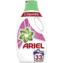 ARIEL Sensation Rose Lessive Liquide 1,815 L 33Lavages - Lot de 2