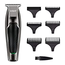 Hair Clippers Set, Professional Rechargeable Hair Clippers, Low Noise Electric Hair Cutting Machine with 5 Combs for Men Kids and Family Use