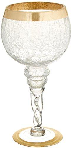 Fifth Avenue Crystal 215178-gb Buckingham Kerzenhalter (2Stück), Gold Buckingham Crystal