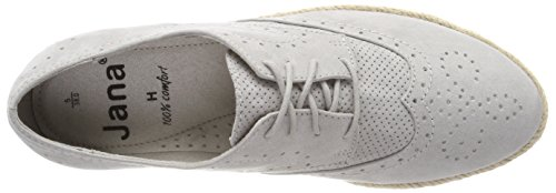 Jana Damen 23609 Oxfords grau (Lt. grey)