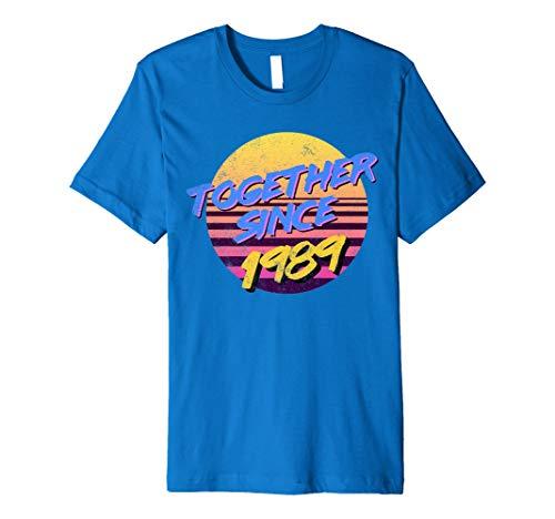 Vintage 80er Jahre MOTTO zusammen seit 1989Jahrestag Shirt