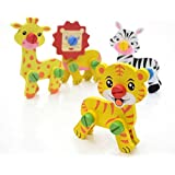 AdiChai Disassembly And Assembly Animal Wooden Toys - Learning Toys For Kids