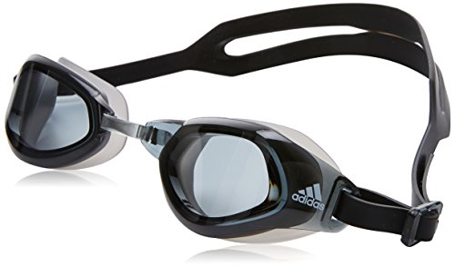 adidas Persistar Fit Unmirrored Schwimmbrille, Smoke Lenses/Black/White, M