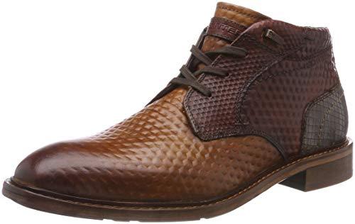 Daniel Hechter 811580201111, Bottines Classiques Homme - Marron - Marron (Cognac/Brown 6360), 40 EU