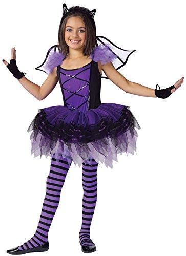 Horror-Shop Fledermaus Ballerina Kostüm L (Kostüm Fledermaus Ballerina)