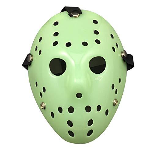 Hockey Mädchen Kostüm - biteri Jason Halloween Kostüm Maske Für Protestieren Halloween-Party Ereignisse Halloween Kostüm Für Erwachsene Mädchen Frauen Alter Mann Kinder
