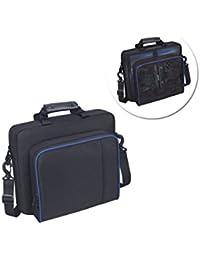 OurLeeme Laptop Bag, Maletín, Bolso de Hombro Grande Multifuncional Resistente al Agua Computer Bag Bolso de Hombro Bolsa de Viaje