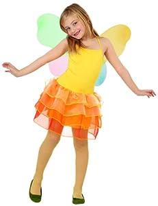 Atosa-23493 Disfraz Hada 7-9, Color amarillo, 7 a 9 años (23493