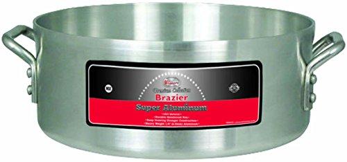 Braiser Set (Winco USA axhb-15Super Aluminium braizer, extra schwere Gewicht, 15Quart, Aluminium)