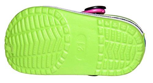 BTS 44–0629 pour sabots avec ours pin'/ broches/19–24 charm taille :  vert Multicolore - Vert