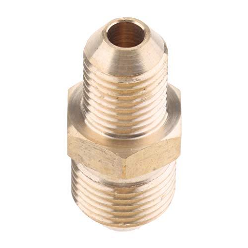 Npt Swivel-adapter (SunniMix Swivel Messing Schlauchkupplung Adapter Anschluss Elektrowerkzeug - 14 mm M bis 18 mm M)