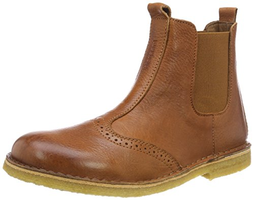 Bisgaard Unisex-Kinder 50203218 Chelsea Boots, Braun (508 Cognac), 33 EU