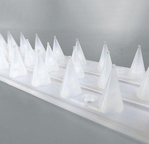 Sicherheits-Spikes 10er-Pack,transparent