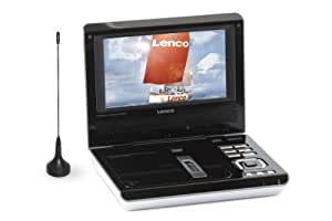 "Lenco DVP-741 Lecteur DVD Portable Ecran LCD 7"" Tuner TNT USB"