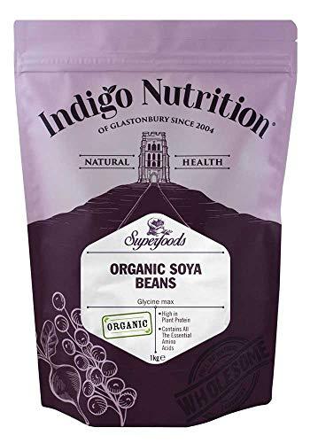 Indigo Herbs Semi di Soia Biologici 1kg