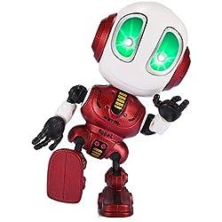 SOKY Jouets pour Garçons de 3-8 Ans Garcon Cadeau, Robot Parlant pour Enfants répète Votre Voix Cadeaux Garcon 3-8 Ans Garcon Anniversaire Jouets Populaires pour Garçons de 3-8 Ans