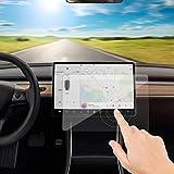TeslaWorld Ricambio per Schermo Touch Screen in Vetro temprato, 9H, AntiGraffio e Resistente agli Urti per Tesla Model 3
