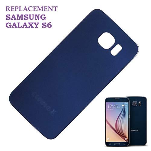 swark Akku Deckel Backcover für Samsung Galaxy S6 G920F G920 Schwarz Akkudeckel