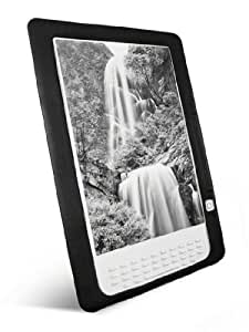Tuff-Luv Slim&Lite Silicone skin case cover for (Amazon Kindle DX) 9' Global Wireless - Black