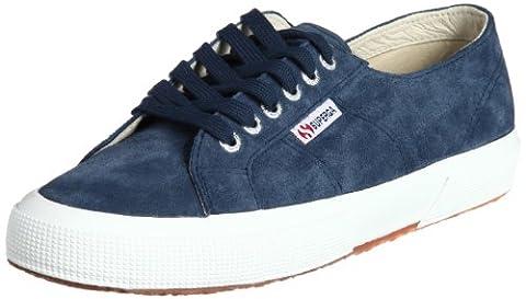 Superga 2750 SUEU, Sneakers Basses mixte adulte, Bleu - bleu, 25 EU