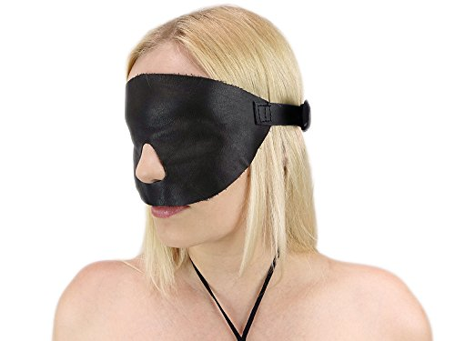 loveorama.de Extrem Gangbang Blindfold Augenbinde (Echtleder)