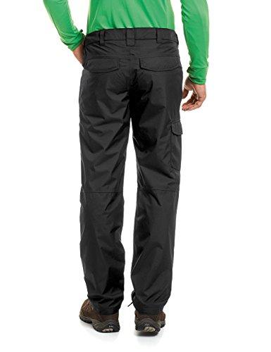 Maier Sports–Pantaloni impermeabili da uomo Taurus nero