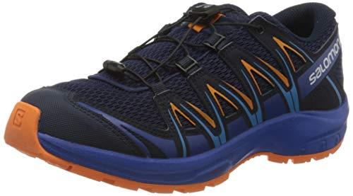 Salomon XA Pro 3D J, Zapatillas de Deporte Unisex Niños, Azul/Naranja Medieval Blue/Mazarine Blue...