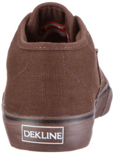 Dekline Harper-Canvas- 602072 Unisex - Erwachsene Sportschuhe - Skateboarding Braun/BRW/BRW
