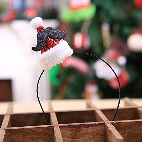 LiangDun Christmas Ornament Topper Stirnband Halloween-Verzierungen