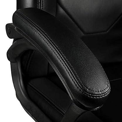 415ZDzEn8UL. SS416  - Nitro Concepts C100 Silla de Gaming - Silla de Oficina - Silla de Escritorio - Cuero sintético de PU