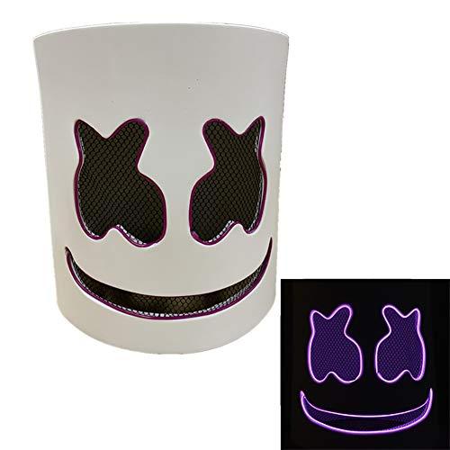 Kontrolle Tier Halloween Kostüm - Halloween Maske DJ LED Maske