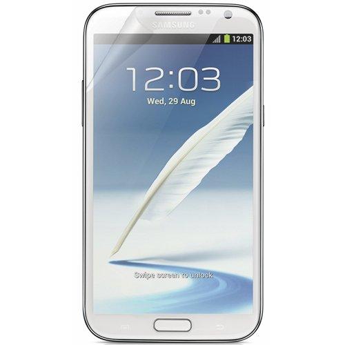 RND Displayschutzfolien für Samsung Galaxy Note II, inkl. Fusselreinigungstücher, 3 Stück, Ultra Crystal Clear (2 Samsung Zagg Galaxy Note)