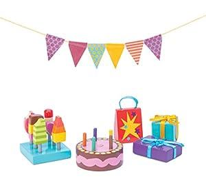 Le Toy Van DaisyLane Party-Time de casa de muñecas Juego de Accesorios