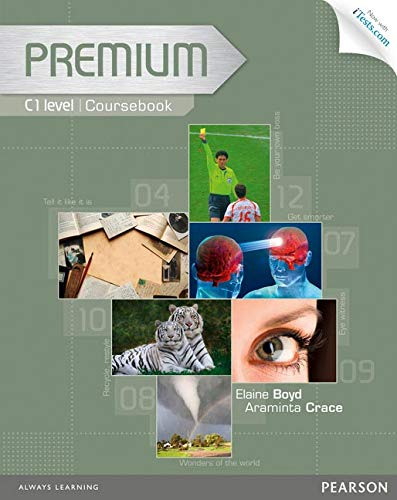 Premium C1 Coursebook with Exam Reviser, Access Code and iTests CD-ROM Pack