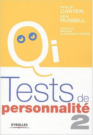 Tests de personnalité 2